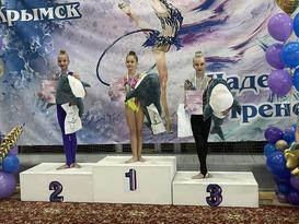 Гимнастки из ЛНР заняли шесть призовых мест на турнире в Краснодарском крае