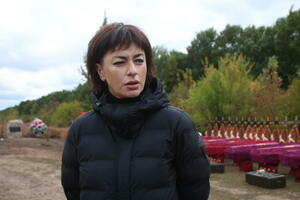 Спецгруппа с августа извлекла из захоронений в ЛНР останки 126 жертв агрессии ВСУ