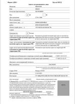 МВД ЛНР опубликовало обновленный бланк заявления на оформление СНИЛС