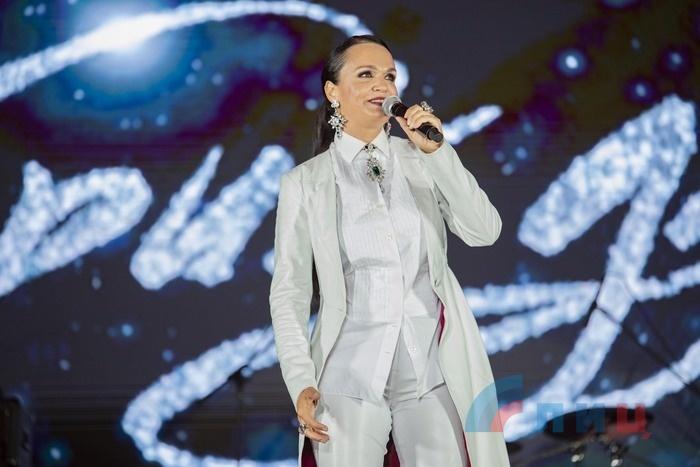 Праздничный концерт по случаю Дня города, Луганск, 11 сентября 2021 года
