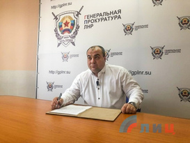 Генпрокурор ЛНР поблагодарил Лукашенко за возможность провести следствие по Протасевичу
