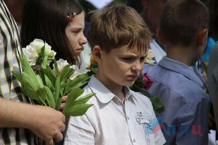 Митинг-реквием в память о детях, погибших от обстрелов ВСУ, Луганск, 1 июня 2019 года