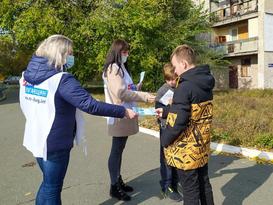 Общественники напомнили жителям Первомайска о подвиге земляка Алексея Воронова