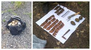 Сотрудники МВД изъяли гранаты и патроны в Красном Луче