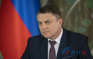 """LPR's Pasechnik says dialogue with Kiev """"meaningless"""" until JCCC officer is liberated"""