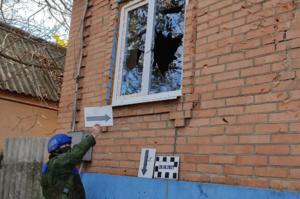 Представители ЛНР в СЦКК зафиксировали последствия обстрелов Республики со стороны ВСУ