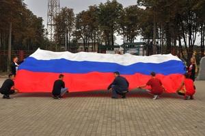 Республика отметила День Государственного флага РФ флешмобами, акциями и забегом