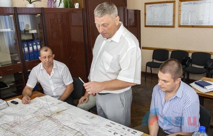 Nikolaya Barakova mine launches new coal face, Krasnodon, July 23, 2021