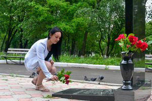 Жители Республики почтили память российских журналистов, погибших под Металлистом