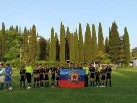Юные спортсмены луганской футбольной школы заняли второе место на турнире в Абхазии
