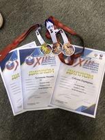 Спортсмены ЛНР завоевали пять медалей на всероссийских соревнованиях по тхэквондо в Анапе