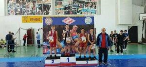 Юные борцы из ЛНР заняли четыре призовых места на турнире в Анапе