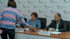 16 сентября. Брифинг об интеграции жителей ЛНР в политическое пространство России