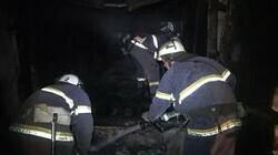 Сотрудники МЧС ликвидировали пожар на рынке в Луганске, предотвратив отключение связи