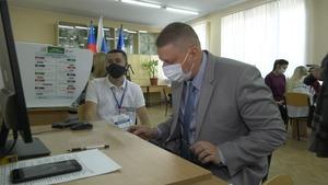Студенты ДонГТИ участвуют в голосовании, проявляя неравнодушие и ответственность – ректор