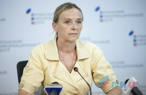 Kobtseva: Kiev lies about opening all checkpoints in Donbass