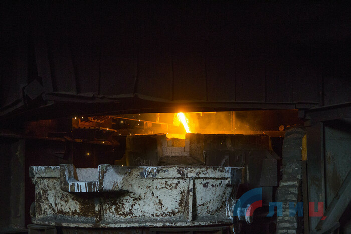 Ознакомление главы ЛНР Леонида Пасечника с работой Стахановского завода ферросплавов, 18 июля 2019 года