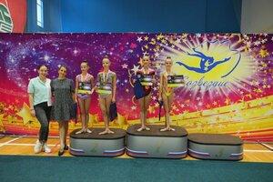 Спортсменки ЛНР завоевали семь медалей на турнире по художественной гимнастике в Сочи