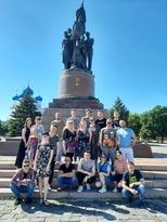 ЛАРДТ завершил акцию к 80-летию начала войны показом поэтического спектакля в Краснодоне