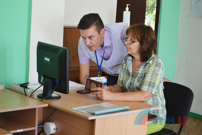 LPR launches 141 consultation centers for voting in Russian parliamentary election, August 2, 2021