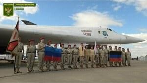 Юнармейцы ЛНР посетили Международный авиационно-космический салон в Подмосковье