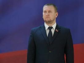 Поздравление председателя Народного Совета ЛНР с Днем Республики Южная Осетия
