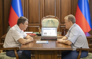 Глава ЛНР высоко оценил работу по модернизации сайта ЛуганскИнформЦентра