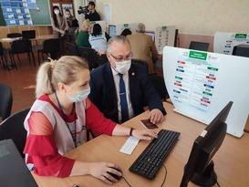 Жители Республики впервые приняли участие в голосовании на выборах в Госдуму