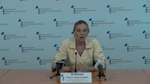 20 июля. Брифинг представителя ЛНР в рабочей подгруппе по гуманитарным вопросам Контактной группы