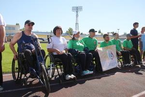 Фестиваль легкой атлетики среди лиц с ограниченными возможностями прошел в Луганске