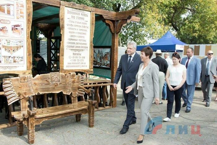 Выставка достижений народного хозяйства ЛНР, Луганск, 14 сентября 2019 года