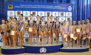 Более 110 спортсменок участвовали в первенстве Луганска по художественной гимнастике – ОП