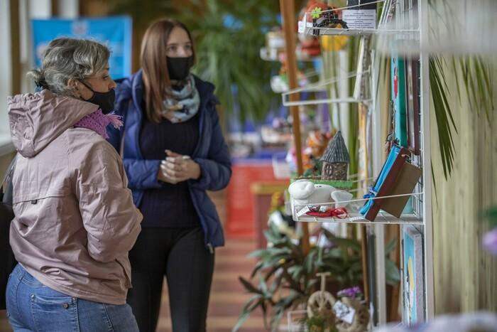 """Открытие выставки """"Лучики добра"""", Луганск, 12 октября 2021 года"""